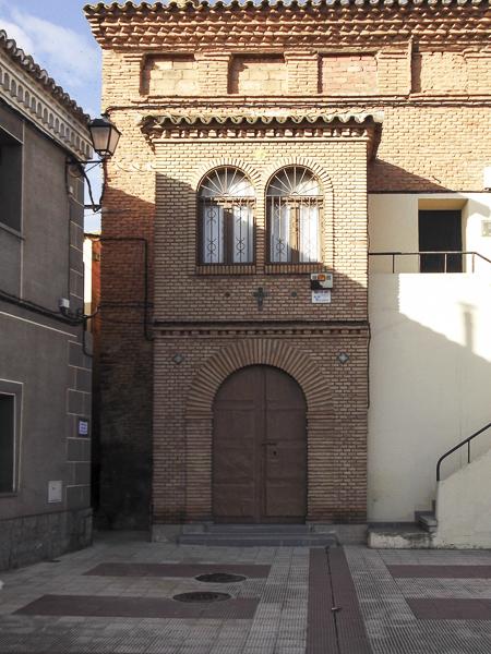 Iglesia Parroquial de Nuestra Señora del Carmen en Marlofa y casona aneja: s/. XVII