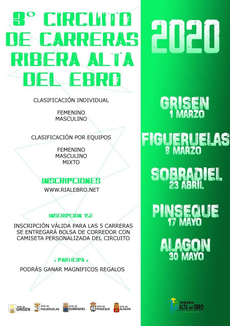 III CIRCUITO DE CARRERAS RIBERA ALTA DEL EBRO